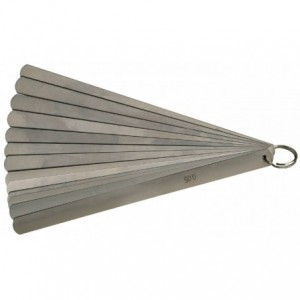 Szczelinomierz plytkowy 20 plytek 200mm 0,05-1,00mm Limit 25953605